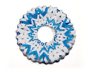 Pergamenata White Aqua Murano Blue